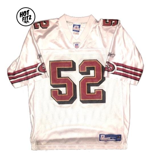 premium selection ad9fe b687d Reebok San Francisco 49ers P Willis jersey